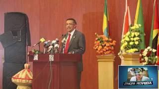 Dr. Tedros Adhanom amhara Diaspora 4/08/2016