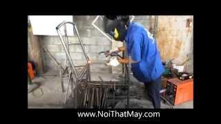 Sản Xuất Khung Sắt Ghế Giả Mây - Tại Xưởng Nội Thất Minh Thy