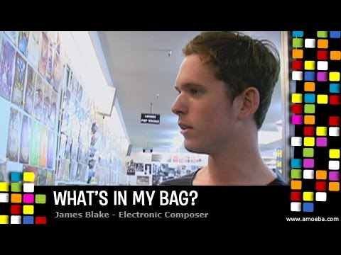 James Blake - What's In My Bag?