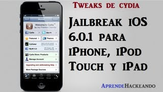 Jailbreak Semi untethered iOS 6.0.1 español