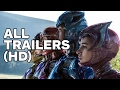 Power Rangers   All Trailers (2017)