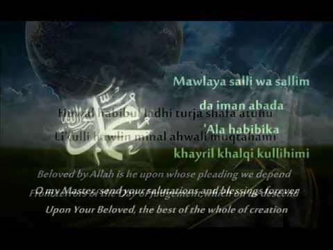 Mawla Ya Solli With Lyrics [habib Syech As Seggaf] video
