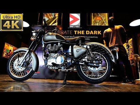 Royal Enfield Classic 350 Gunmetal Grey 4K Walkaround Review #Bikes@Dinos