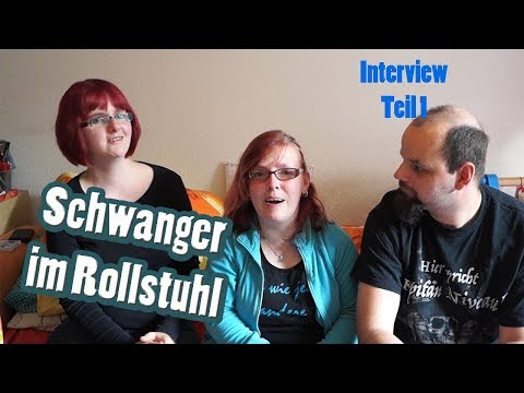 Schwanger im Rollstuhl /Reaktionen und Vorbereitung /Interview Teil 1