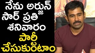 Vijay Antony About Action King Arjun At Killer Success Meet | Killer | Vijay Antony