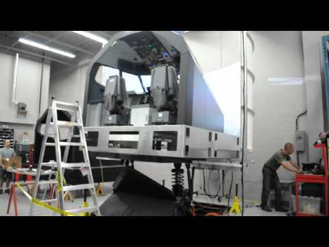 Flightdeck Solutions B737NG Full Motion Flight Simulator