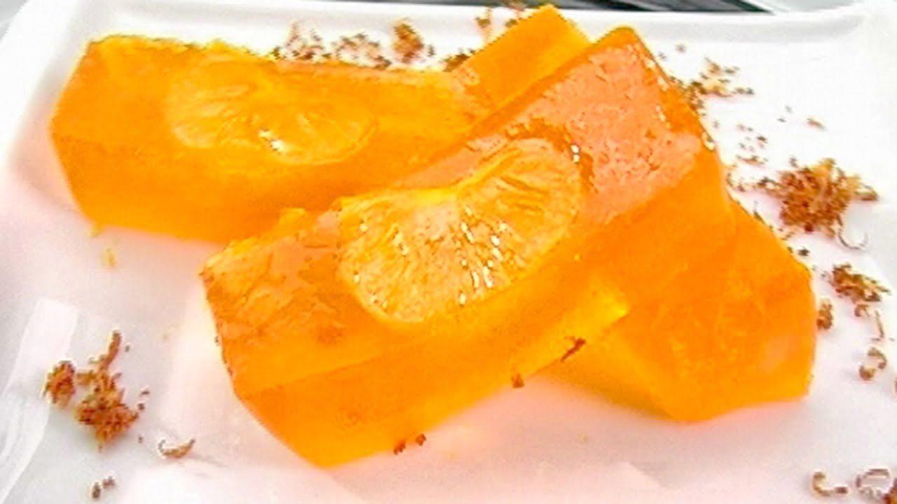 Как сделать желе из мандарина