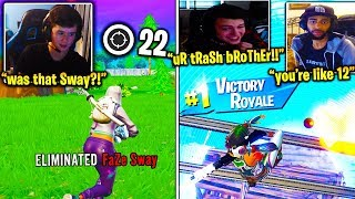 BUGHA vs. FaZe SWAY *FINALLY HAPPENS* in SOLO CASH CUP!? CLIX *MOCKS* TSM DAEQUAN! (Fortnite)