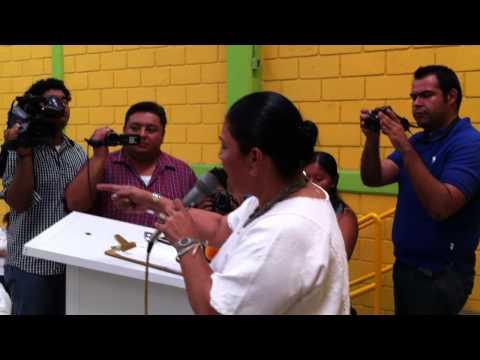 María Larios Cano rindió protesta como nueva dirigente del PVEM en Tuxtepec