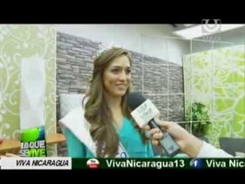 Marline Barberena es Miss Nicaragua 2014