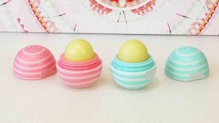 Eos Visibly Soft Lip Balm -Coconut Milk & Vanilla Mint - EOS Demo Deutsch