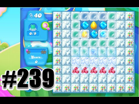 Candy Crush Soda Saga Level 239   Complete! No Booster!