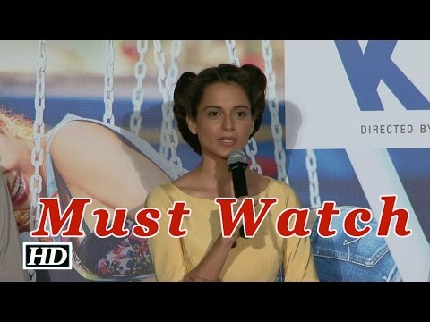 Kangana Ranaut's Boldest Confession Ever