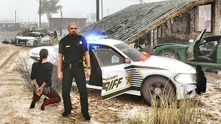 GTA 5 MODS LSPDFR 963  - HILLSBOROUGH COUNTY PATROL!!! (GTA 5 REAL LIFE PC MOD) 4K
