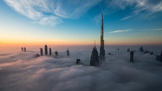 Incredible Fog Seen Over Dubai