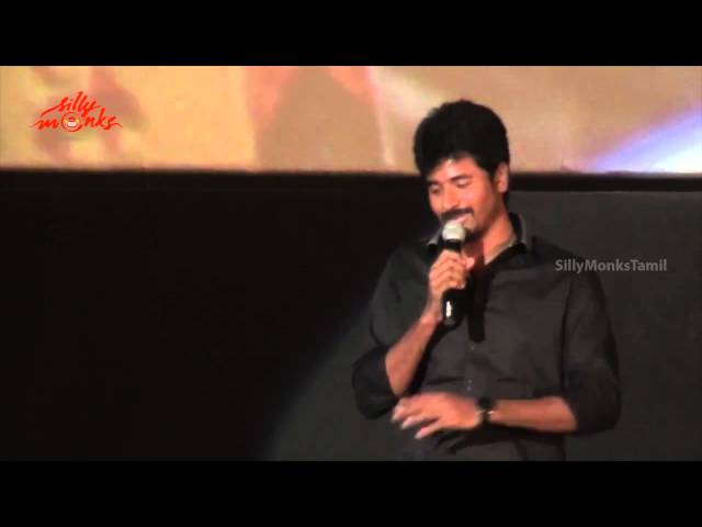 Siva Karthikeyan - sukumar sir takes an hour to keep a close up for me