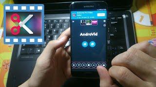 Ứng Dụng Cắt Ghép Edit Video Tốt Nhất Trên Điện Thoại | AndroVid | By Vũ BIN √