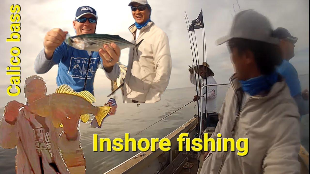The Fish On Crew Calico bass fishing