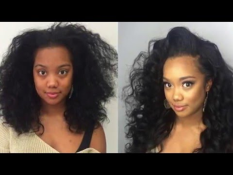 The BEST Lace wig Sew in Tutorial! Pour some tea and watch this Italian girl slay!