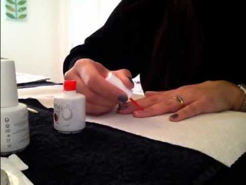 Harmony Gelish manicure - How to and guide to products used