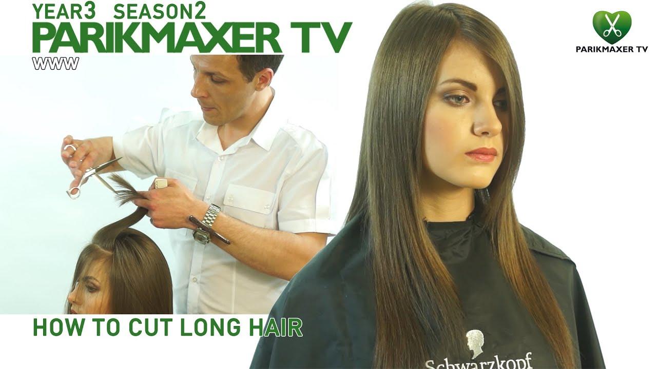 Каскад на длинные волосы парикмахер тв