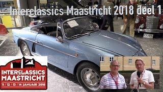 Interclassics Maastricht 2018 deel 1, JAGUAR XJS, ASTON MARTIN CYGNET, ALPINE A108, LANCIA FLAMINIA