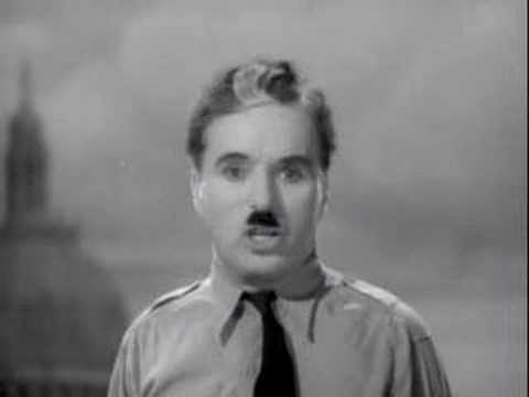 Charlie Chaplin - The Great Dictator video
