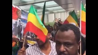 Huge protest in Washington DC against the Ethiopian regime