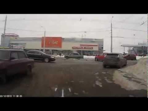 ДТП Белгород Б.Хмельницкого-Кутузова 22.12.2012
