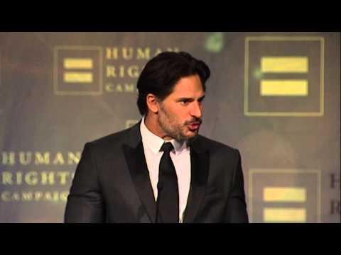 Joe Manganiello Receives the Ally for Equality Award
