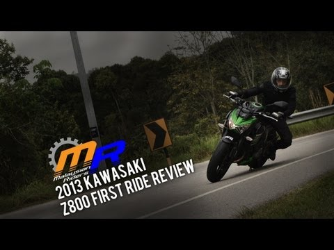 2013 Kawasaki Z800 First Ride Review -- Ep. 2