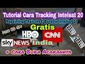 Tutorial Cara Tracking Satelit Intelsat 20 Ada HBO & CNN India & Sky News