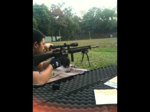M16 SPR 22LR 70Yards in Thailand
