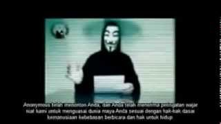 Hacker Anonymous Bela Palestina