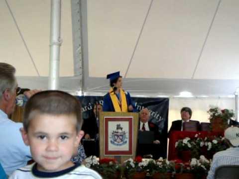 John Stark Regional High School Valedictorian Speech