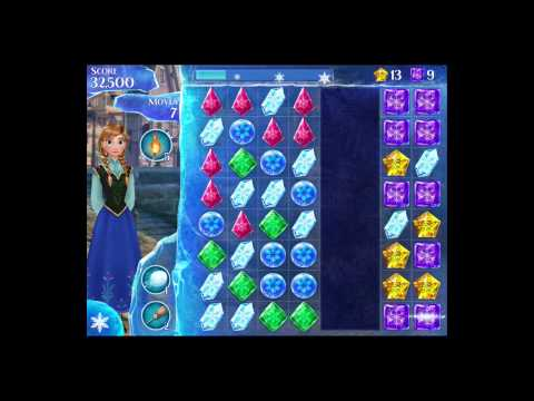 Disney Frozen Free Fall Level 41