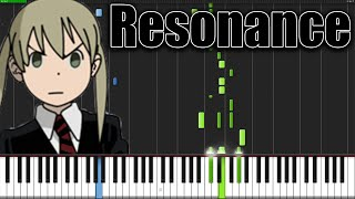 Resonance - Soul Eater (Opening 1) [Piano Tutorial] (Synthesia)