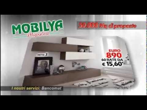 Offerta pareti attrezzate da mobilya aprile 2013 youtube - Mobilya megastore ...