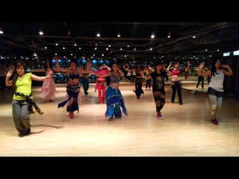 MASTER JEET ARABIAN BELLY DANCE CLASS 1ST PRAT...............