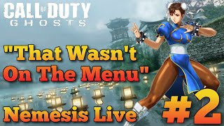 "COD Ghosts ""Nemesis DLC"" Live ""Dynasty"" Multiplayer Gameplay #2 