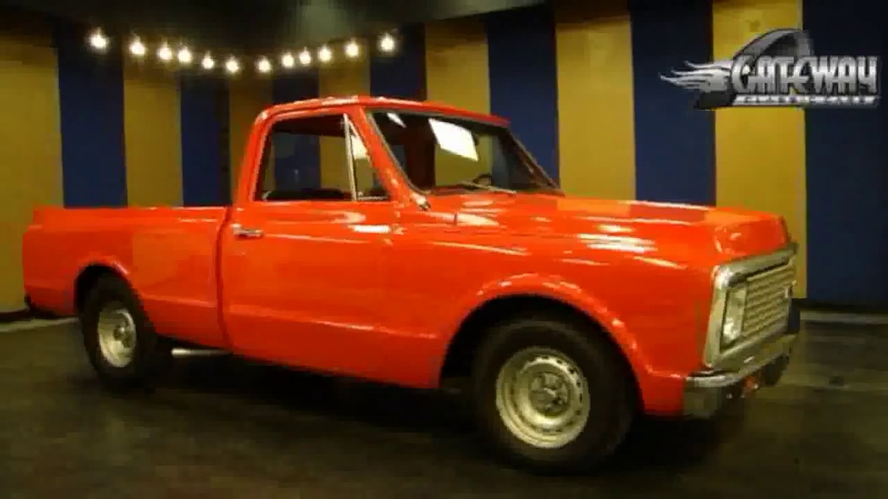 1972 Chevy C10 Shortbed Pickup For Sale At Gateway Classic