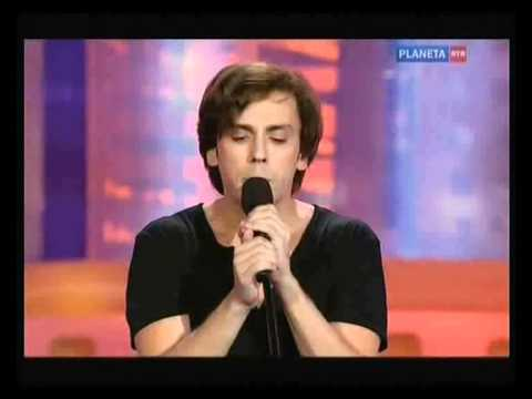 "М.Галкин "" Новая волна"" 2011 пародия- Попури песен 80-90х.avi"
