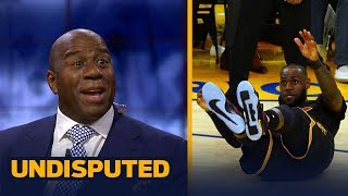 Magic Johnson on LeBron