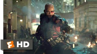 Suicide Squad 2016 Deadshot Frenzy Scene 3 8 Movieclips