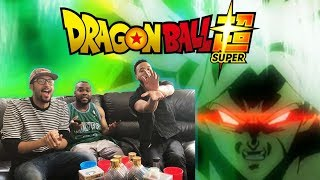 DRAGON BALL SUPER BROLY MOVIE TRAILER REACTION/REVIEW