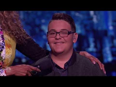 Christian Guardino: Howie's Golden Buzzer 'Makes It Rain'   Live Shows   America's Got Talent 2017