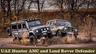 UAZ 3151 Hunter AMC and Land Rover Defender