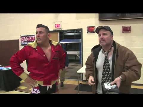 Colt Cabana's Dad is a Zack Ryder Fan!