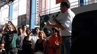 João Doria PSDB prefeito fala : quando eu prometo eu cumpro ao MSTI de Heliópolis