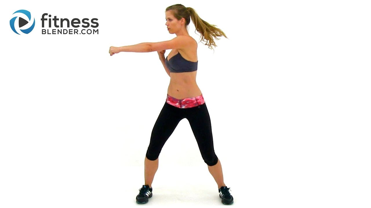 Kelli's Cardio Kickboxing Workout - Max Calorie Burn ...